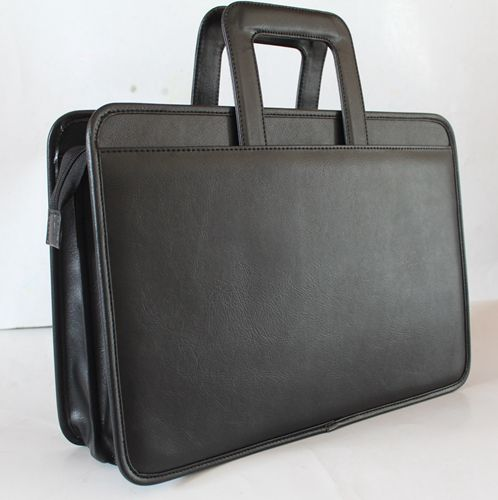 9206-616 Melife leather PU 2 gusset briefcase