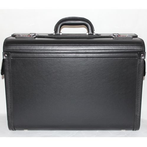 SP202PU PU pilot case with two end pockets