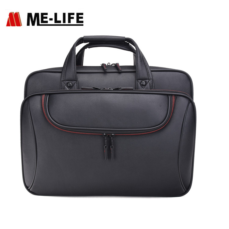 "1743-38 Briefcase Bag 15.6"" Laptop Messenger Bag Business Office Bag"