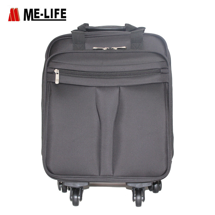 1715-307 18 inch Nylon trolley bag large capacity rollong case for business
