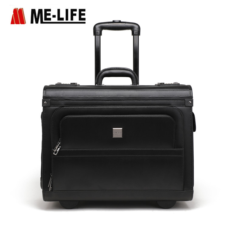 24F-103LY Pilot case rolling cabin bag small rolling bag