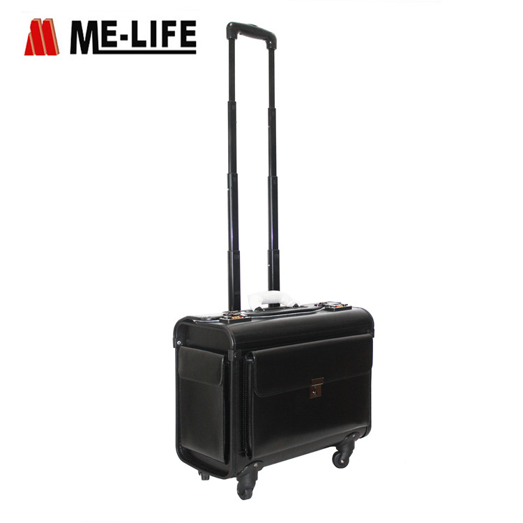24F-AB008 Rolling case on-the-go professional bag rolling tote
