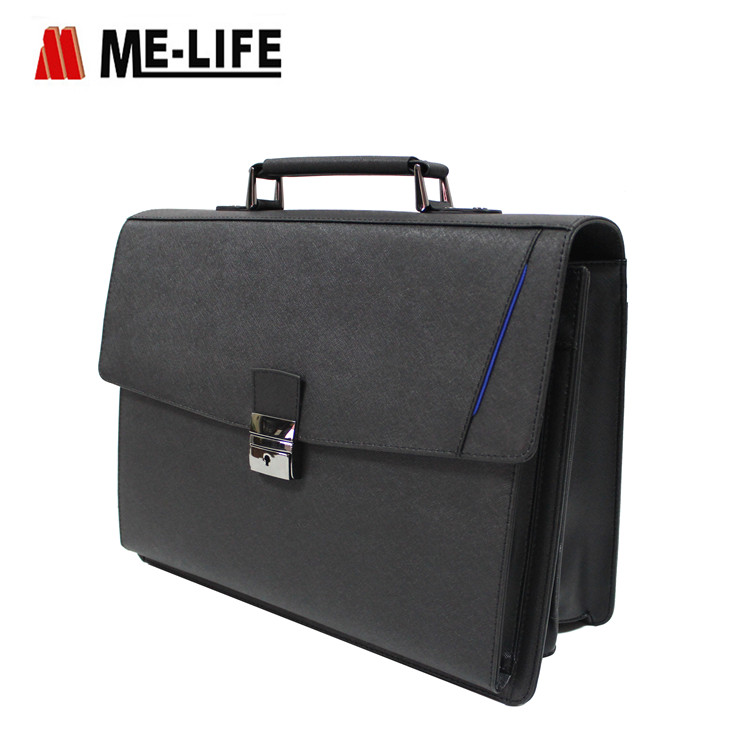 1832-821B PU briefcase laptop case business computer bag for men and women