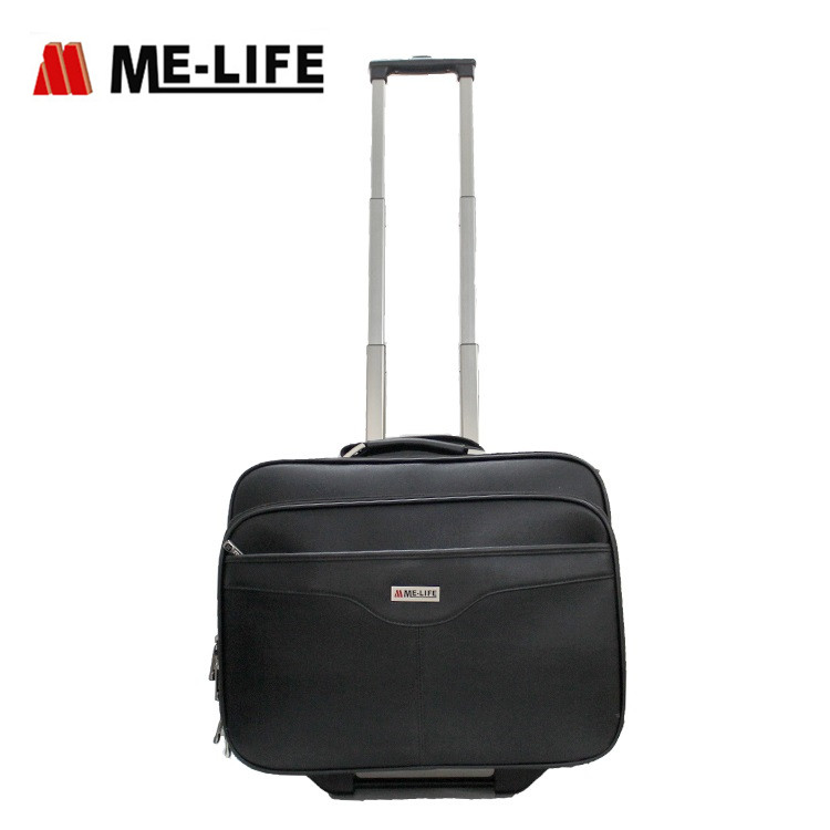 1714-002 document trolley bag for business mens rolling bag