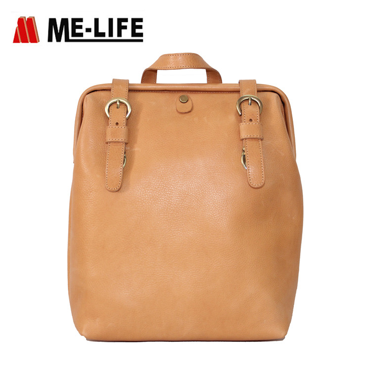 leather PU backpack