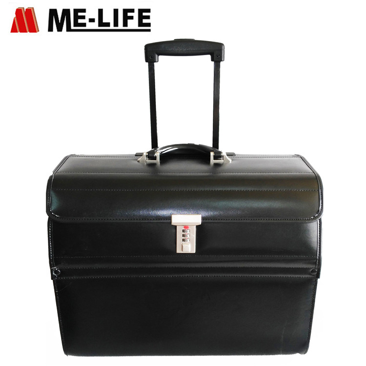 24F-905 pilot case trolley for business travel luggage