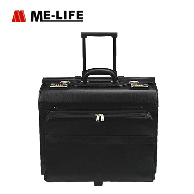 D13-904 rolling catalog case trolley pilot case
