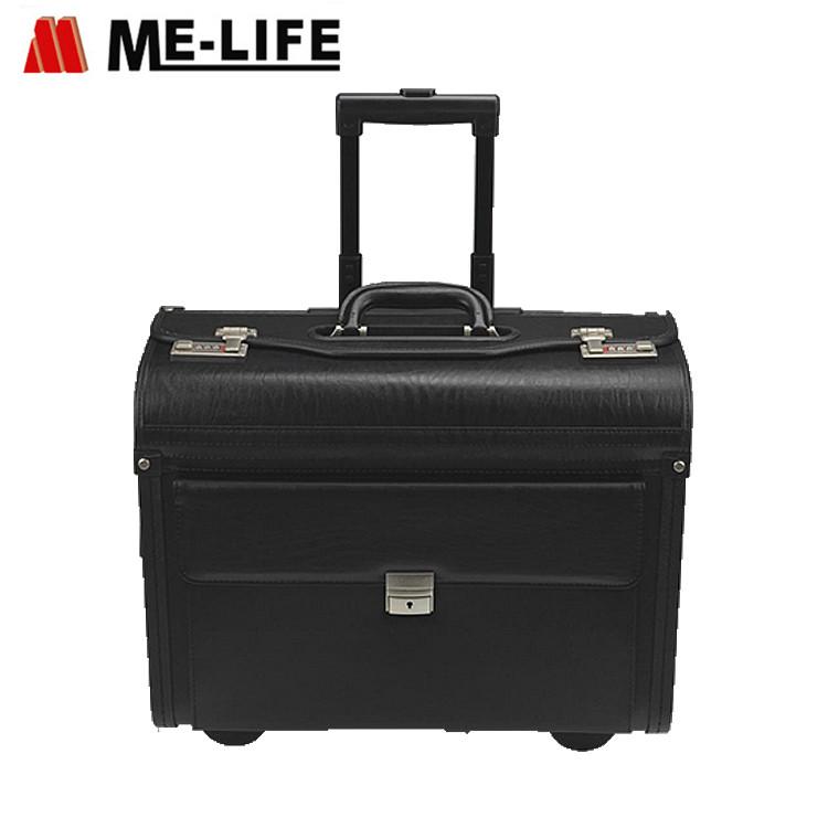 D13-902 rolling suitcase for travel file organizer pilot case