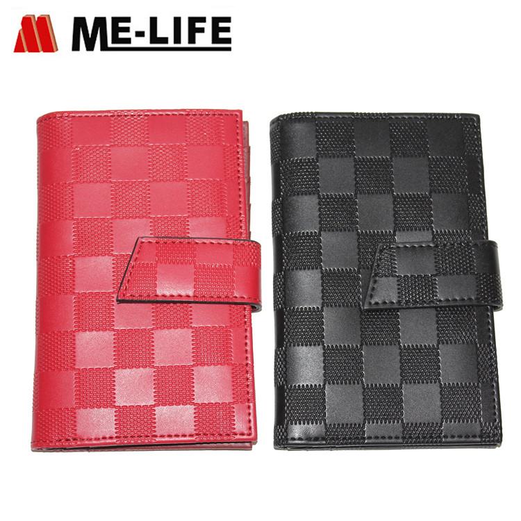 D6-1703 leather PVC women wallet