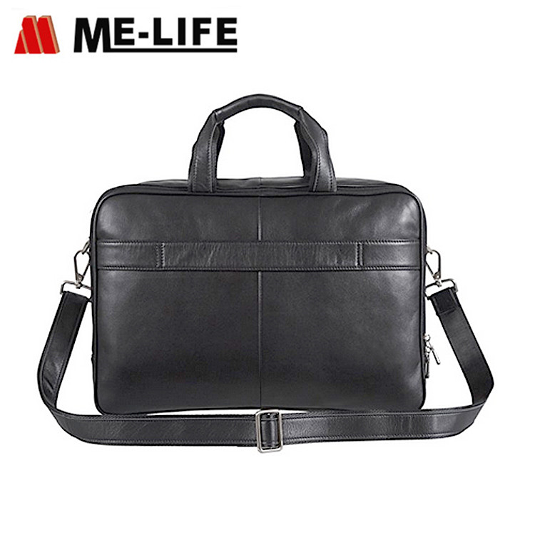 LFF17070601 leather PU laptop bag for travel and business with large capacity