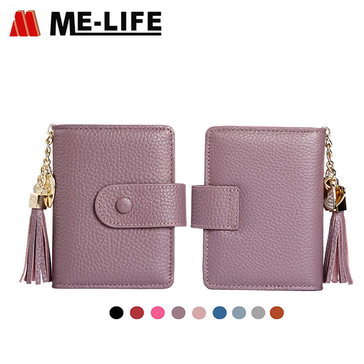 ZW002 PU leather card holder wallet