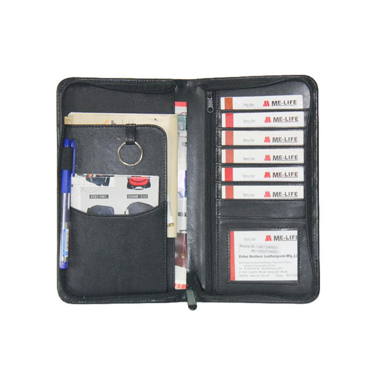 TF01 leather pocket folder