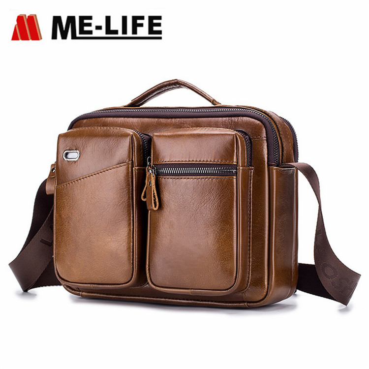 new model leather messager bag