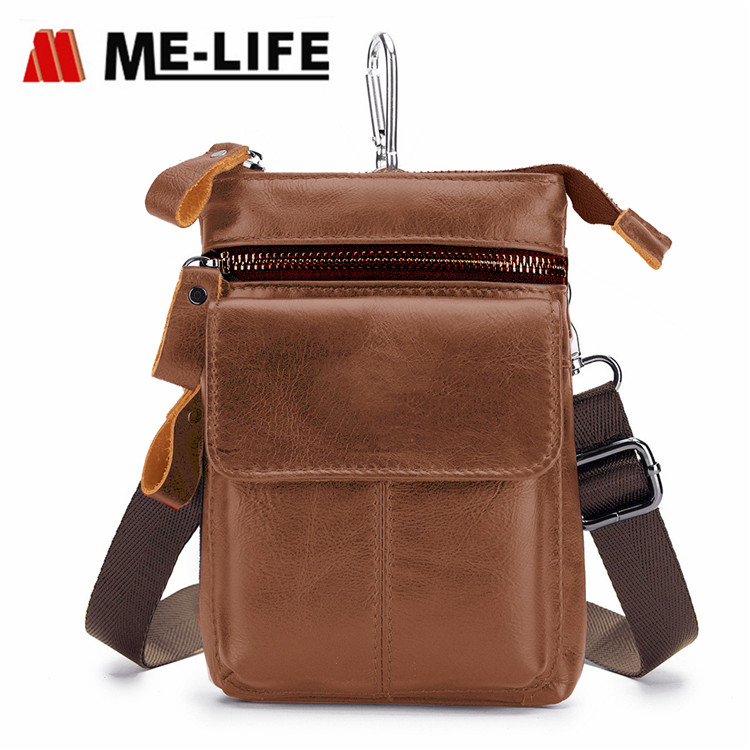 new fashion leather hanging bag