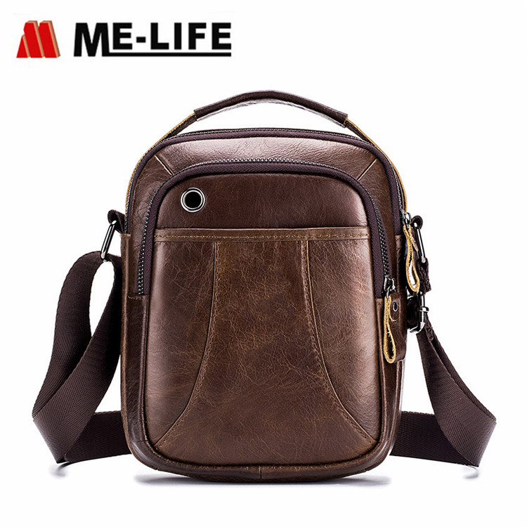 new design leather message bag