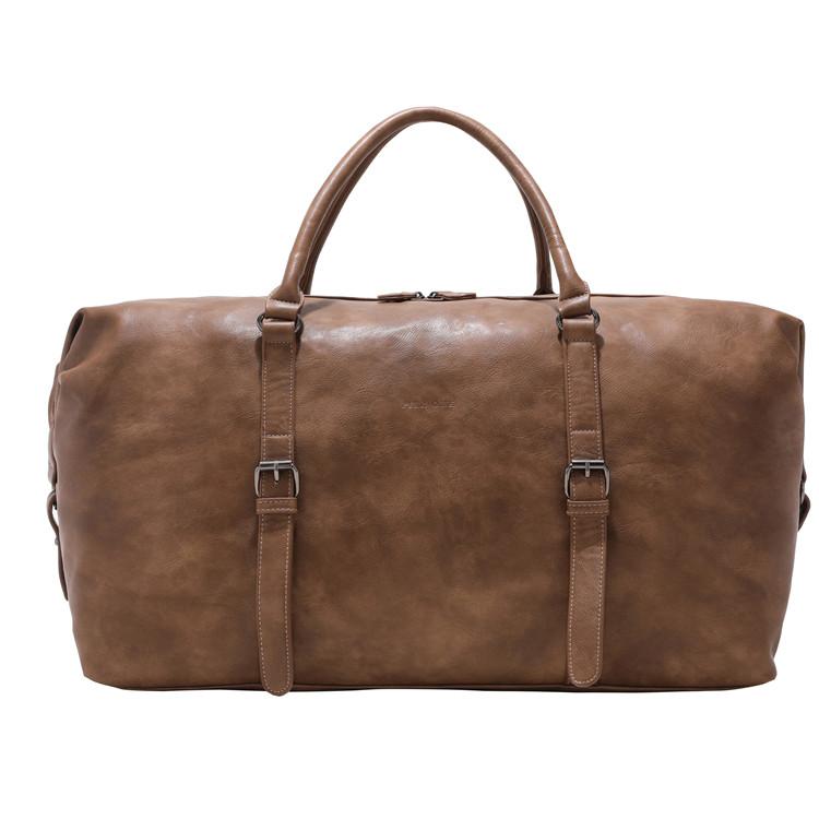 1940-02 PU overnight duffle travel bag